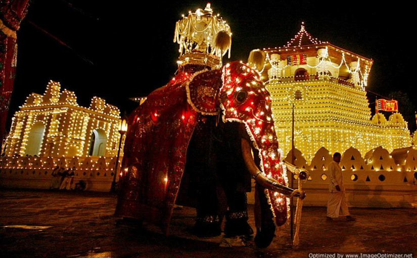 kandy esala perahera 2015 Augest 15th to 30th